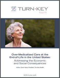 Over-Medicalized Care at the End-of-Life in the United States