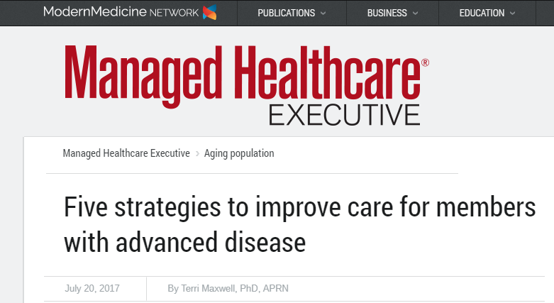 5 strategies to improve care for members with advanced disease